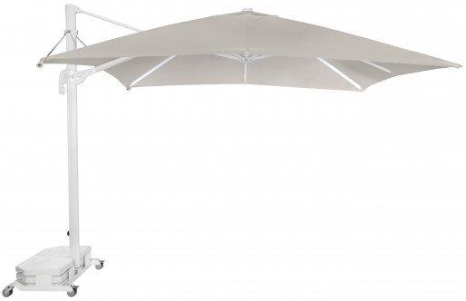 Parasol Ezpeleta Cuadrados White 2 Blancos sand Olefin 3X3