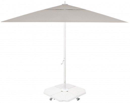 Parasol Ezpeleta Cuadrados White 2 Blancos sand Olefin 4X4
