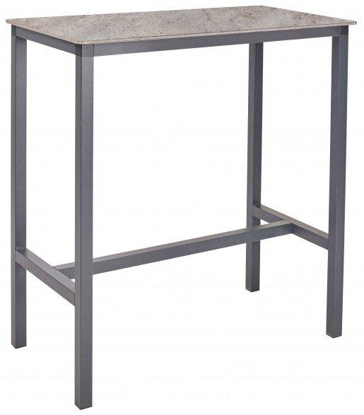 Mesa Ezpeleta  anthracite Grises concrete Aluminio lacado 104x55