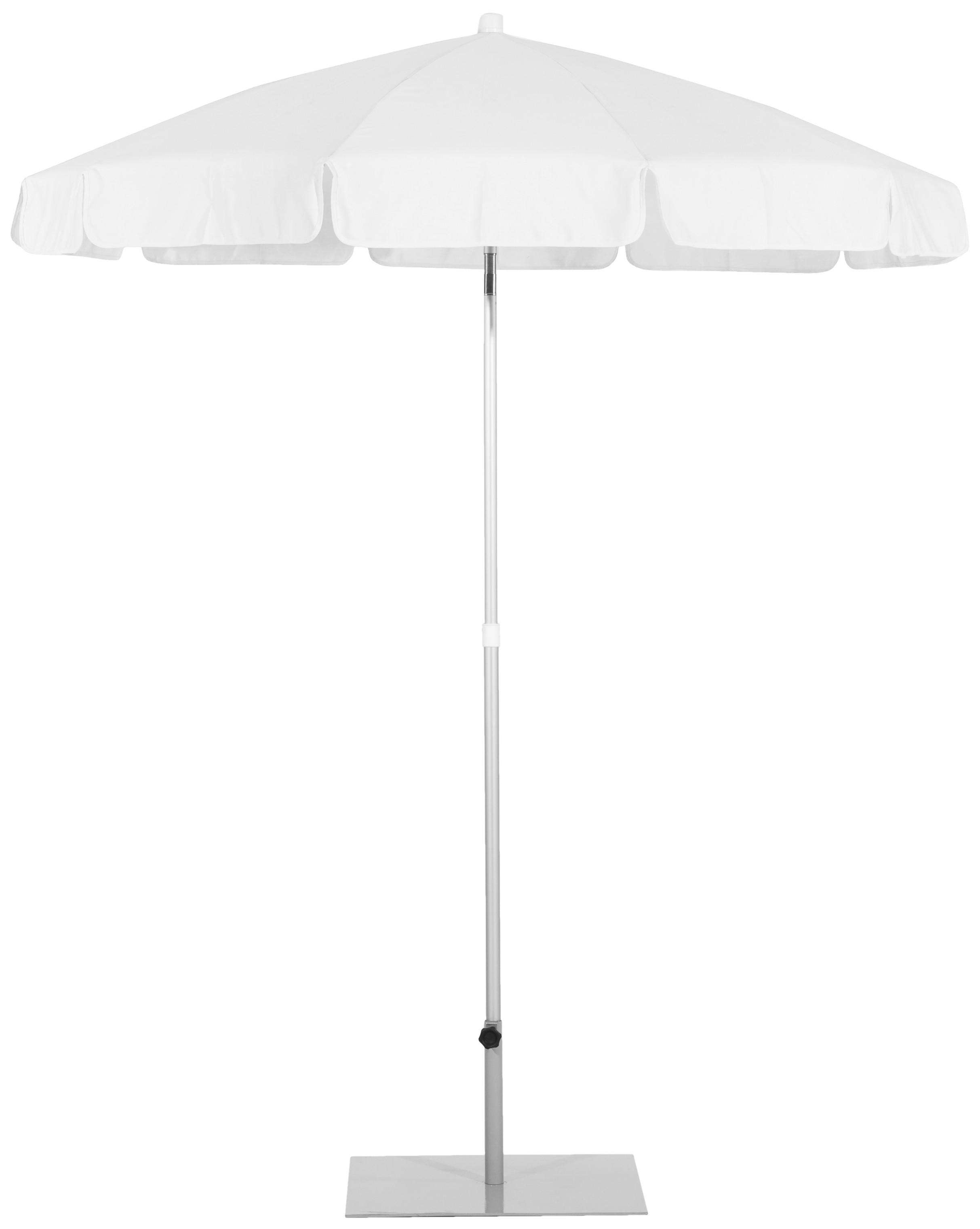Parasol Ezpeleta Redondos Grey 1 Grises white Olefin 2