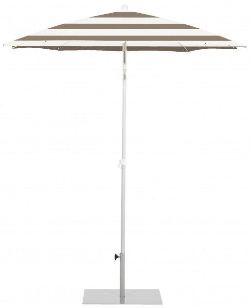 Parasol Ezpeleta Redondos Grey 0 Grises taupe stripe Olefin 2