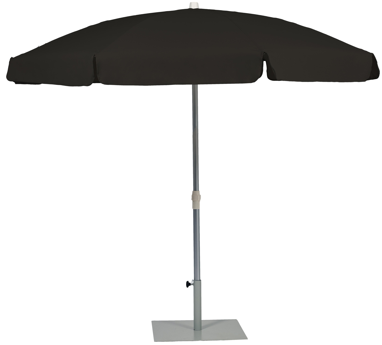 Parasol Ezpeleta Redondos Grey 1 Grises black Olefin 2,5