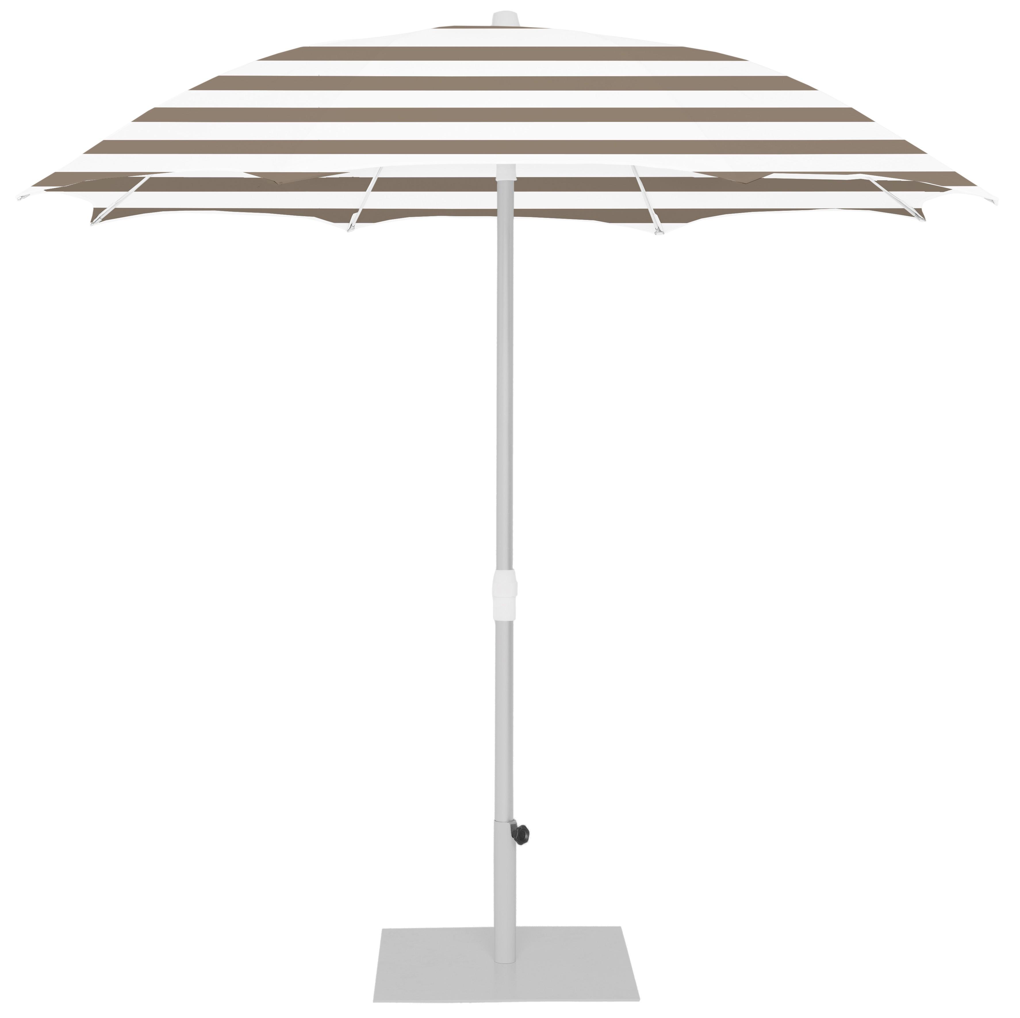 Parasol Ezpeleta Redondos Grey 0 Grises taupe stripe Olefin 2,5