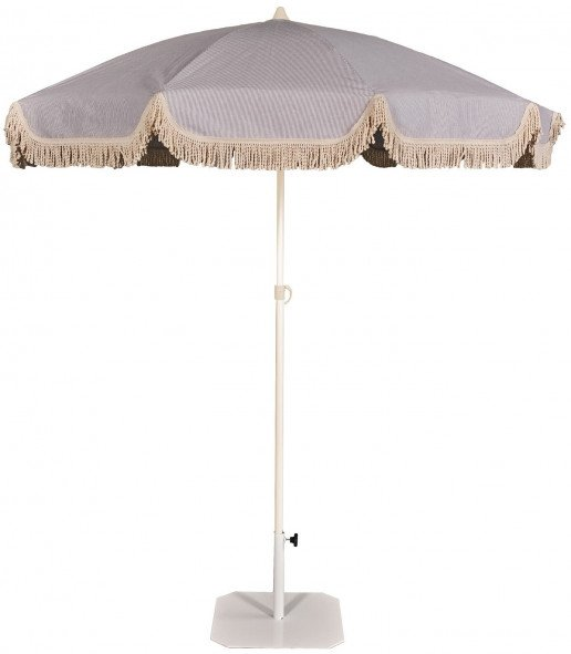 Parasol Ezpeleta Redondos Sand 1 Blancos  Olefin 2