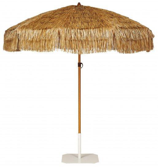 Parasol Ezpeleta Redondos Sand 0 Blancos  Olefin 2