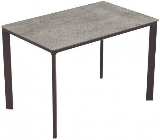 Mesa Ezpeleta  Moka Marrones concrete Aluminio lacado 120x80