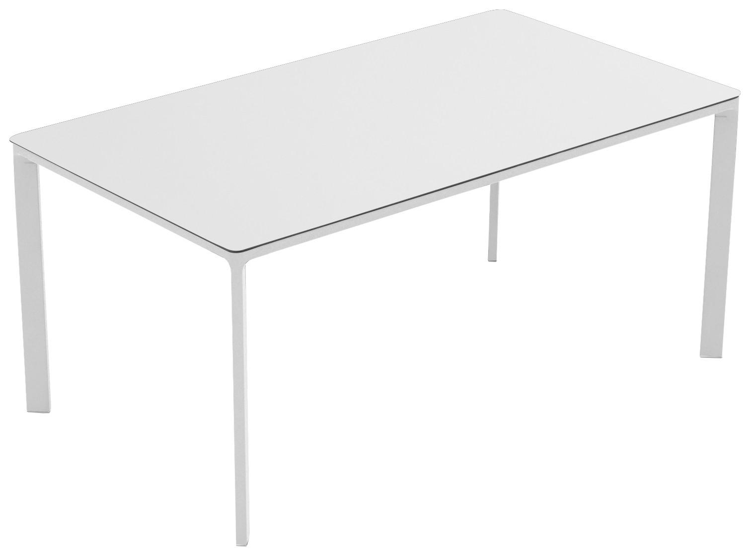 Mesa Ezpeleta  white Blancos white Aluminio lacado 160x90