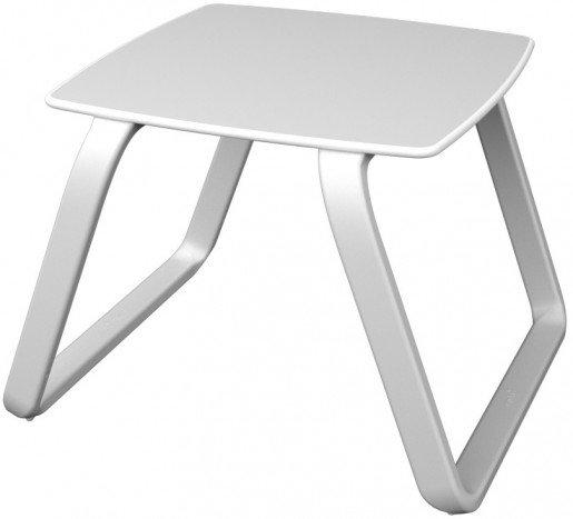 Lounge Ezpeleta Mesa auxiliar white  Blancos Aluminio lacado