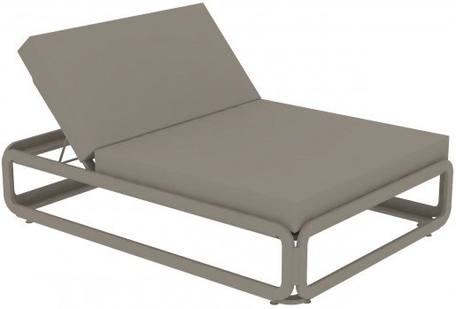 Lounge Ezpeleta Cama Balinesa taupe  Marrones Aluminio lacado Nautic