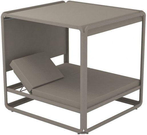 Lounge Ezpeleta Cama Balinesa taupe taupe Marrones Aluminio lacado Nautic