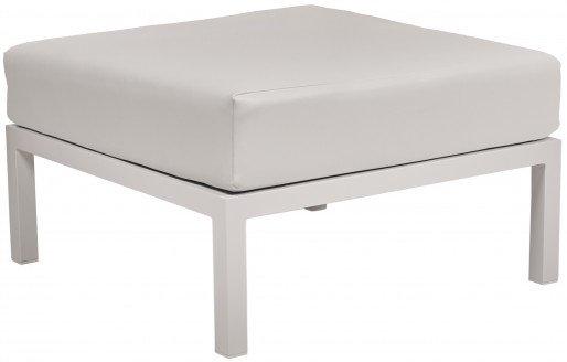 Lounge Ezpeleta Pouf white white Blancos Aluminio lacado Nautic