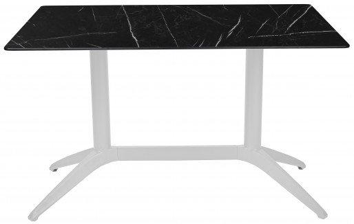 Mesa Ezpeleta  white Blancos black marble Polipropileno 120x80