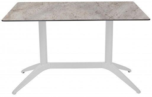 Mesa Ezpeleta  white Blancos concrete Polipropileno 120x80