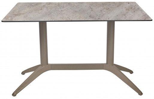 Mesa Ezpeleta  Taupe Marrones concrete Polipropileno 120x80