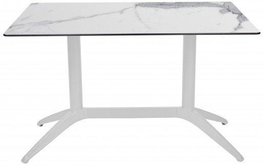 Mesa Ezpeleta  white Blancos white marble Polipropileno 110x70